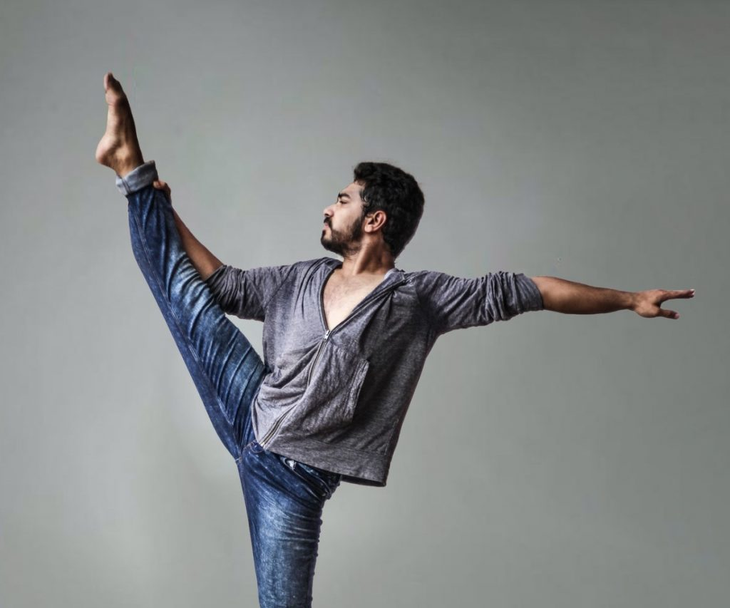 Indian Man Doing Yoga - top clothing brands in India