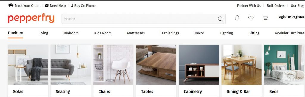 Pepperfry - Buy Furniture Online India