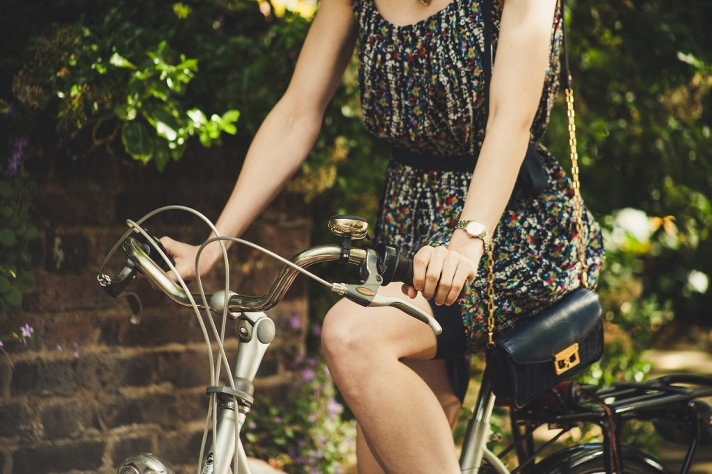 reduce belly fat with cycling