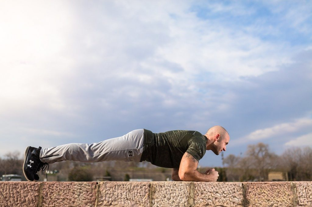 reduce belly fat with plank exercises